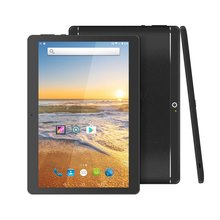 цена на 10.1 Inch Tablet Pc Android Tablet 1280*800 IPS 4GB+64GB Dual SIM 3G Tablet Quad Core Android 8.0 Bluetooth WiFi Tablets 10