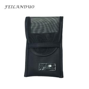Image 5 - FEILANDUO מקצועי איפור מברשת סט 7 pcs באיכות גבוהה צמר סיבי איפור כלים מתנה עם לשטוף סבון איפור מברשות