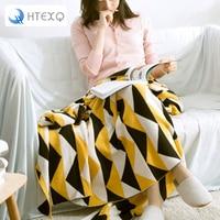 New Warm Blanket Soft Blanket Cotton On Bed Warm Throw Blankets Travel Blanket 130cm 160cm Free