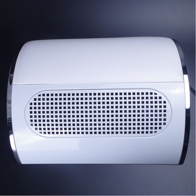 20W 110V/220V Nail Suction Dust Collector Large Size Strong Nail Vacuum Cleaner Machine Low Noisy with 2 bags Salon Tool