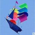 O Envio gratuito de Diversão Ao Ar Livre Esportes Estéreo 3D Veleiro Pipa/Vela Pipas Com Alça E Linha Boa Voador