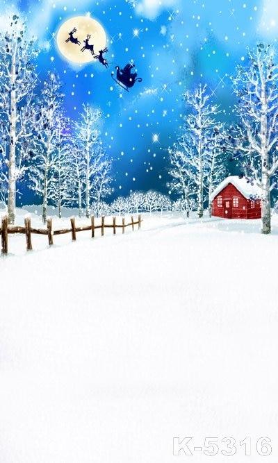 santa sky snow wallpaper - photo #43