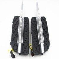 CYAN SOIL BAY For BMW X5 E70 07 09 LED DRL Daytime Running Light Fog Lamp