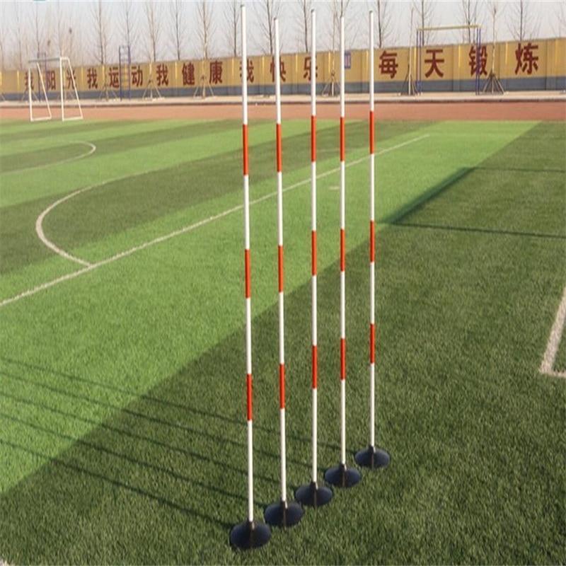 120 cm de Football formation pôle Conduite voiture trainging tige test Scolaire tige verticale 5 pcs/ensemble
