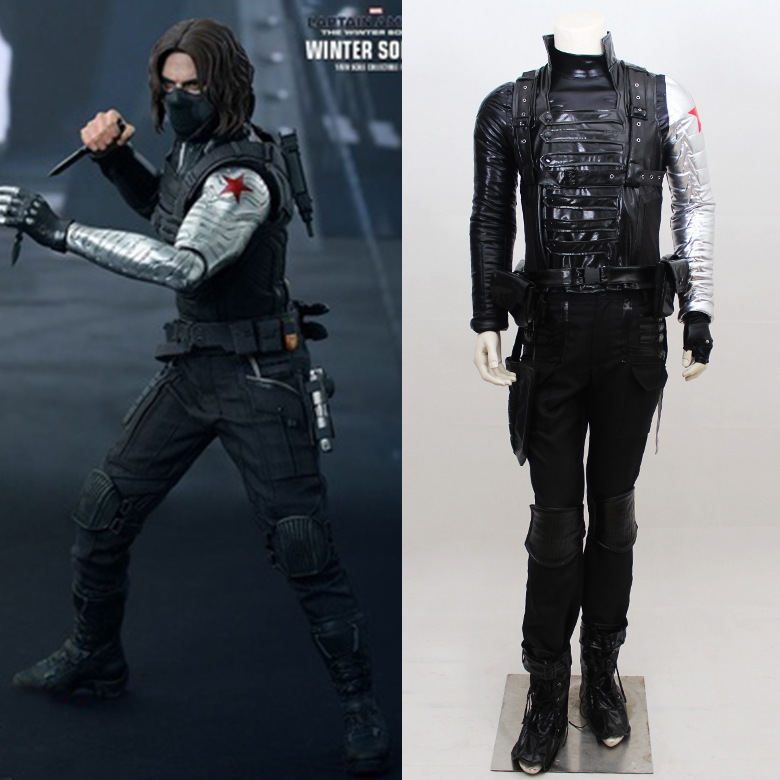 Online Buy Wholesale Winter Soldier Costume From China