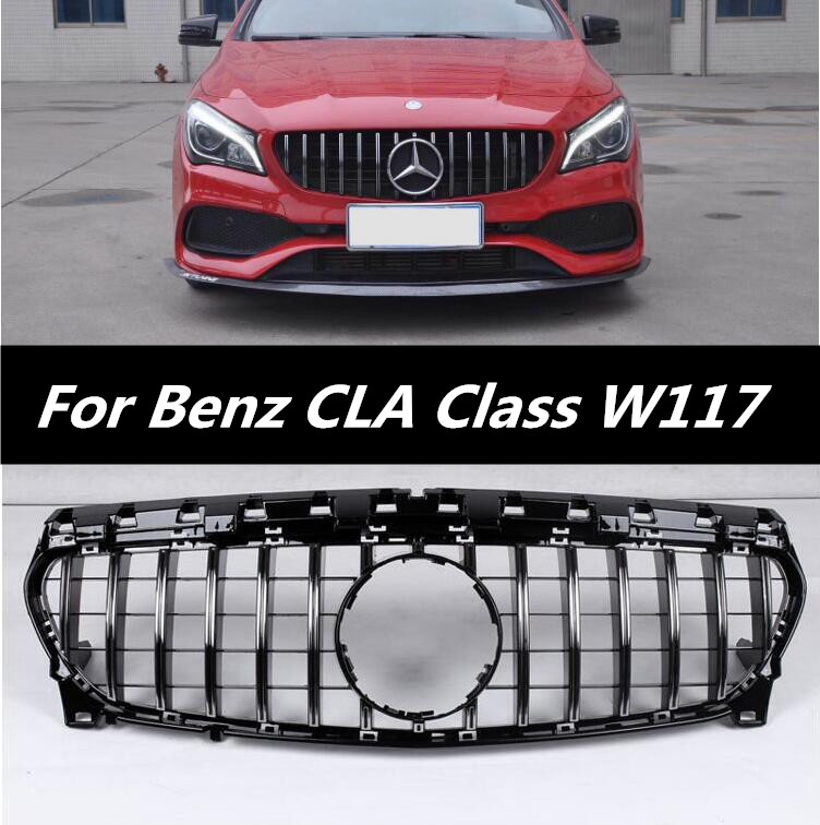 Car Front Around Mesh Grille Grills Cover Trims For