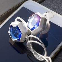 2016 Latest bluetooth wireless earphones luxury fashion girls Gift Lovely Diamond Tears design earbuds in-Ear for iphone android
