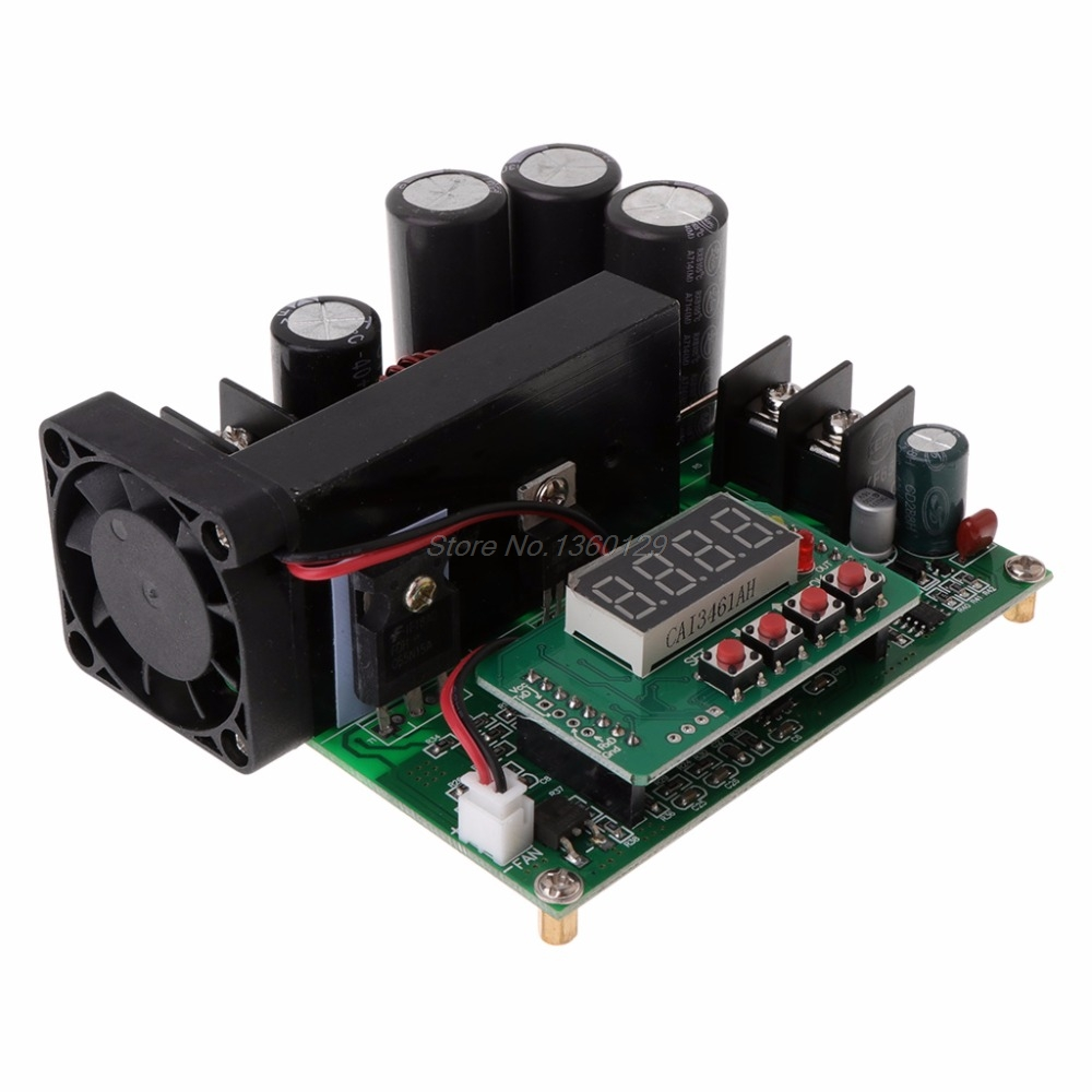 B900W adjustable boost module Constant voltage current Transformer Module Regulator Input 8-60V to 10-120V 900W AUG_22 Dropship 100 pcs lm317m to 252 lm317 medium current 1 2 to 37v adjustable voltage regulator