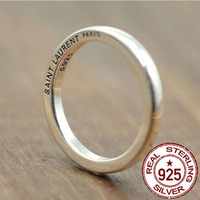 925 Pure Silver Ring Vintage Hipster Minimalist Men And Women S Rings Sterling Silver For The