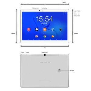 Image 5 - Teclast T20 Tablet PC 10.1 inch 2560*1600 helio X27 MT6797 Deca Core Android 7.0 4GB RAM 64GB ROM 4G telefoontje 8100mah 13MP