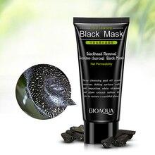 Черная маска на голову, Т-зона, против черных точек, пленка для носа, сужает поры для лица, корейская косметика, подходит для всех групп