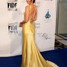 Kate Hudson желтое вечернее платье для выпускного вечера в том, как потерять парня за 10 дней/платья знаменитостей/платья в фильмах vestidos de novia