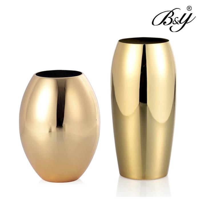 online buy wholesale gold vase from china gold vase. Black Bedroom Furniture Sets. Home Design Ideas