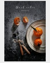 Placa de material de fotografia hd cimento rachado textura papelão à prova dwaterproof água jóias alimentos atirar foto estúdio fundo adereços