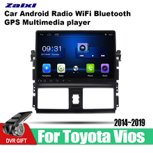 ZaiXi Android Car GPS Multimedia Player For Toyota Vios 2014~2019 car dvd Navigation radio Video Audio Car Player WiFi Bluetooth zaixi android car gps multimedia player for toyota fj cruiser 2006 2018 car navigation radio video audio car player bluetooth
