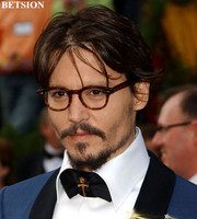 Vintage Full Rim Tortoise Johnny Depp Eyeglass Frames Glasses Rx able Spectacles Eyewear