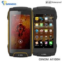 Android Rugged Phone IP68 Octa Core Waterproof phone 4G LTE Dual Sim slim Shockproof Original Oinom LMV11H MTK6752 2G RAM 13.0MP
