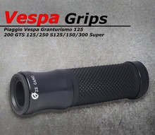 1 coppia Accessori Moto Manubrio Grips Anti Skid Gomma Per Piaggio Vespa GTS 300 Super LX LXV Sprint 125