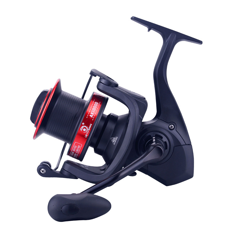 YUYU Sea Fishing Spinning Reel 8000 10000 12000 Metal Spool 12+1BB Saltwater Catfish Surfcasting Fishing Reel Distant Wheel image