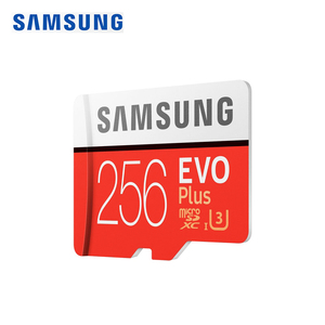 Image 2 - SAMSUNG Original New 256GB U3 Micro SD Memory Card Class10 TF/SD Cards C10 R95MB/S MicroSDXC UHS 1 U3 EVO+ EVO Plus Support 4K