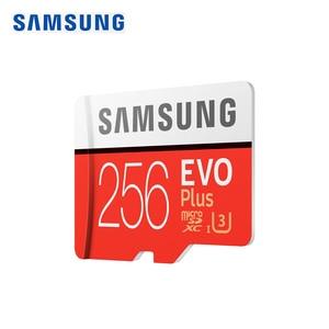 Image 2 - SAMSUNG carte Micro SD, 256 go, classe 10, TF/S, MicroSDXC UHS 1, U3 EVO + EVO Plus, compatible 4K, nouvelle carte mémoire