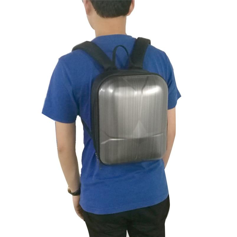 2017 Hard Shell Carrying Gray Backpack bag Case Waterproof Anti-Shock For DJI Mavic Pro top handle made of aluminum alloy