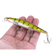 HENGJIA 1PCS Fishing Lure  minnow lure sinking Hard Artificial Bait 3D Eyes 11cm 14g Wobblers Peaca Bass Tackle