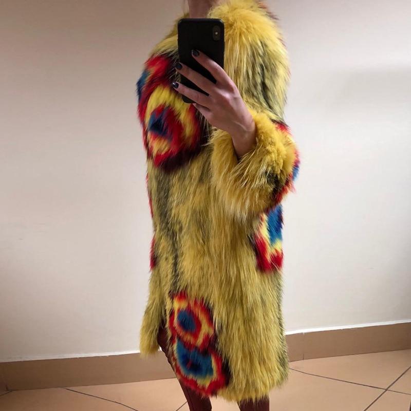 Les Pour Casual Viverrin Chien Laveur Hiver Haute As Femmes De Raton Fourrure Picture Manteau Vestes Et Qualité Manteaux Véritable Nature 2018 Tricoté nF0YxwAq5P