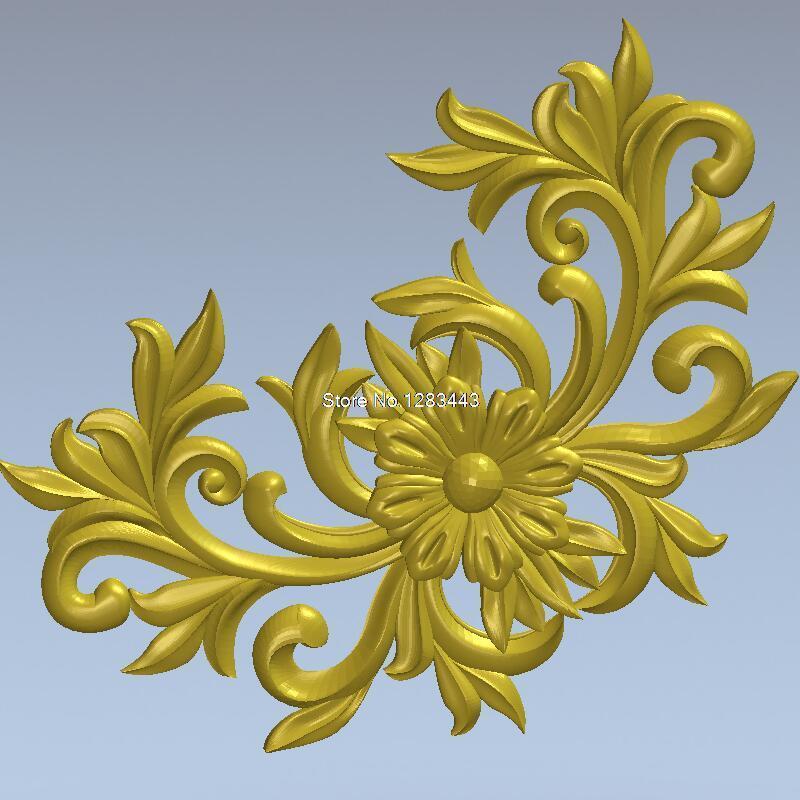 High Quality New 3D Model For Cnc 3D Carved Figure Sculpture Machine In STL File 3D Furniture Decoration Decor_98