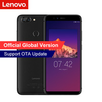Lenovo S5 K520 4GB RAM 64GB ROM Snapdragon 625 Phone Dual Rear 13MP + Front 16MP Face ID 18:9 Full Screen 3000mAh Smartphone Lenovo Phones