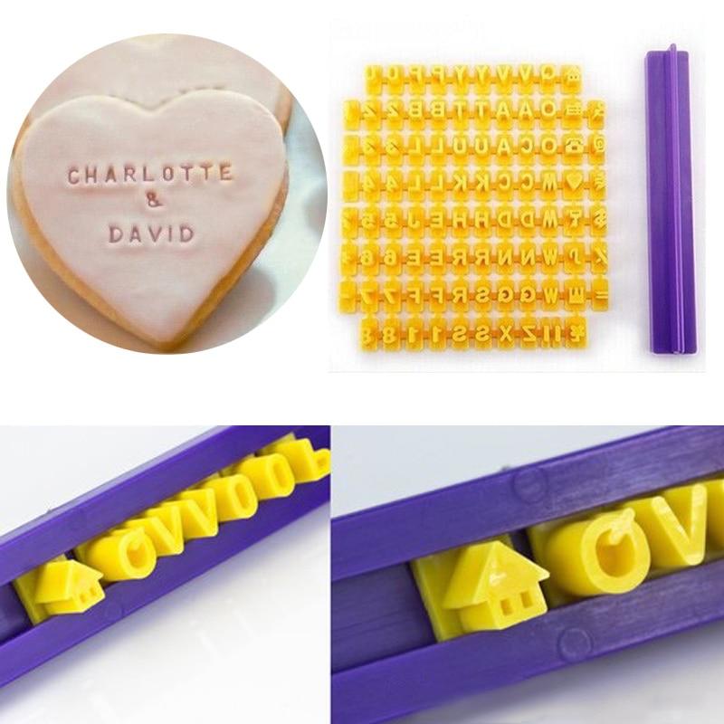 molde cortador alfabeto para cupcakes