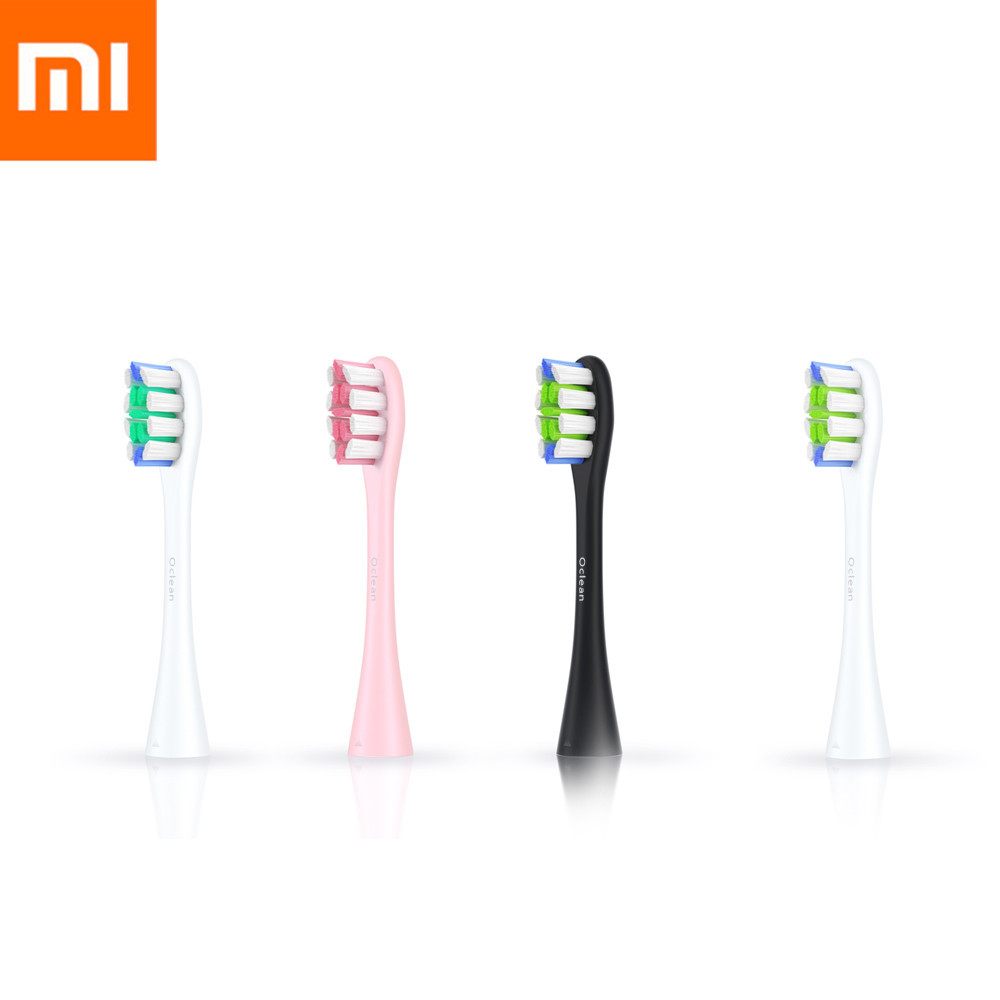 2PCS Xiaomi Oclean SE/One Replacement Deep Cleaning Brush Heads Food-grade PP Healthy W-shaped Brush Head for Sonic Toothbrush цена и фото
