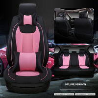 Luxury Leather Car Seat Cover Universal Car Covers For Dodge Ram Charger Durango Journey Cars Cushion