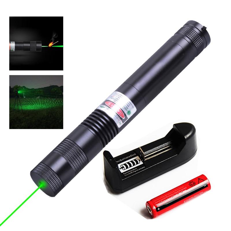 Laserski pokazivač 007 lov snažan zeleni laserski nišan podesivi - Lov