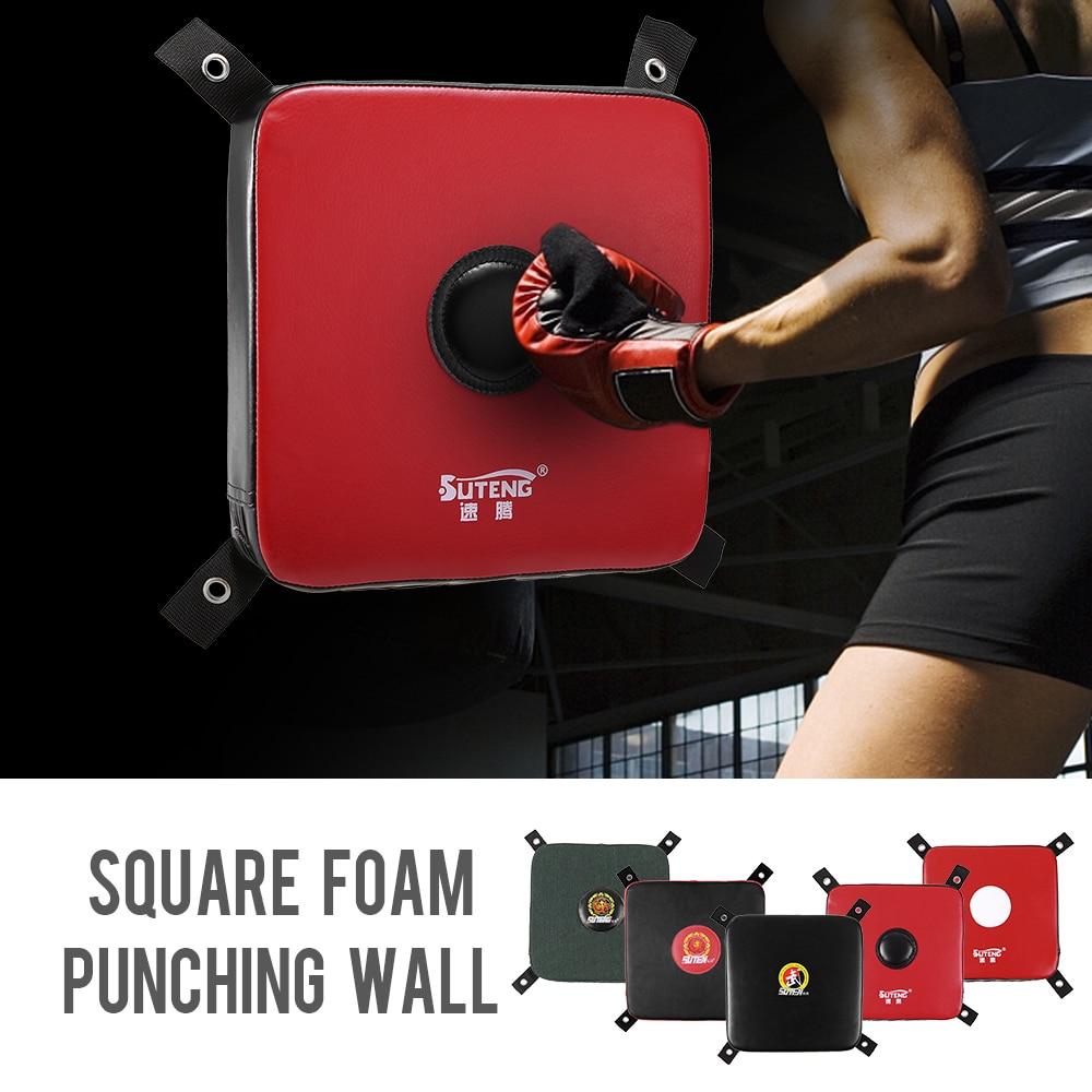 Square Foam Boxing Punching Wall Boxing Wall Striking Kick Bag Fighting Pad Solid Karate Training Board Punching Boxing Bag 2019