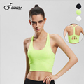 Fainlise 2017 New Women's Bras with Pads Vest Push Up Seamless Underwear Women Top Parachute Style Long Bras