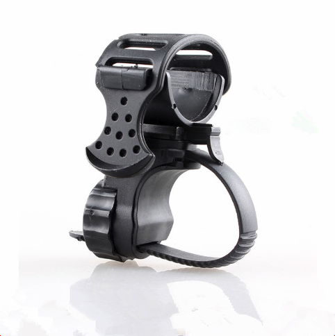 Hot Portable Cycling Bike Bicycle Light Lamp Stand Holder Rotation Grip LED Flashlight Torch Clamp Clip Mount