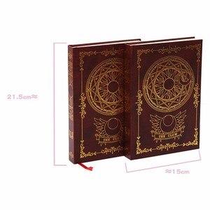 Image 5 - Caderno mágico de animes sakura cerberus, padrão de estrela de palhaço, livro de diário para presente para amigos