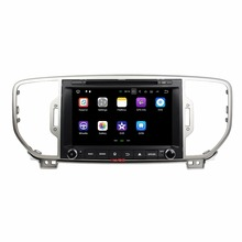 KLYDE 2 Din 8 Android 7 1 Car Multimedia Player For KIA SPORTAGE 2016 Car font
