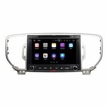 """Klyde 2 Din 8 """"Android 7.1 Reproductores multimedia para coches para kia sportage 2016 coche Radios estéreo Quad Core reproductor de DVD de audio 1024*600"""