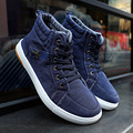 2016 Fashion Winter Man Casual High Top Denim Canvas Shoes For Men Casual Shoes Funny Harley Printed Shoes Breathable Flats