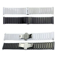 Butterfly Buckle Ceramic Wristband For Samsung Gear S3 Strap For Gear S3 Classic R770 S3 Frontier