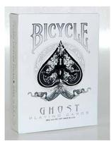 Classic Bicycle White Ghost Deck Playing Card Magic Trick Accessories Stage Magic Props Close Up Magia