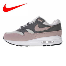 84242a2cb5 Nike Air Max 1 Original Women's Running Shoes, Pink/Red, Shock-absorbing