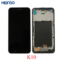 No dead pixel LCD Display For LG K10 2017 LCD Touch Screen M250 M250N M250E M250DS Digitizer panel with Frame Replacement Parts