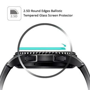 Image 5 - 5 個/2 個/1 ピース/ロットサムスンギャラクシー時計ガラス 42 ミリメートル 46 ミリメートル強化ガラス HD スクリーンプロテクター 9H アンチ爆発保護フィルム