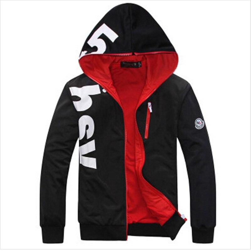 Spring Autumn Plus Size Letter Designer Cool Hoodies Sweatshirt Men Casual Slim Mens Hoodies And Sweatshirts (Asian Size)