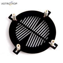 Máscara de Bahtinov de aleación de aluminio de alta precisión para diámetro fijo 190 238