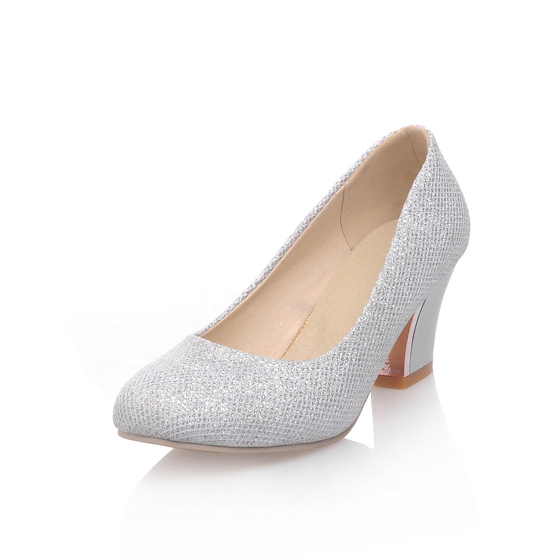 Popular Silver Heels Small-Buy Cheap Silver Heels Small lots from ...