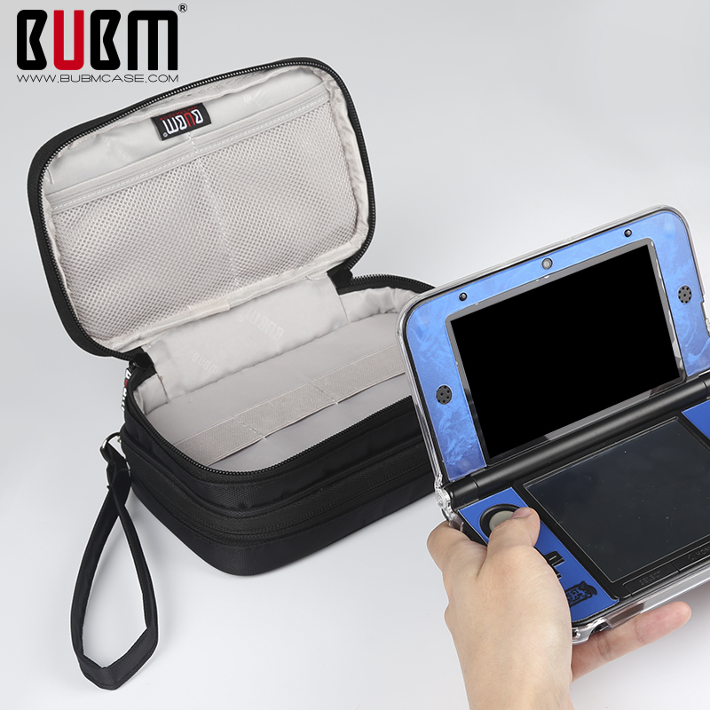 BUBM cases for NEW 3DS3DSLL/XL Game Console Travel Carrying Case Bag  protection playstation Digital Storage Bag